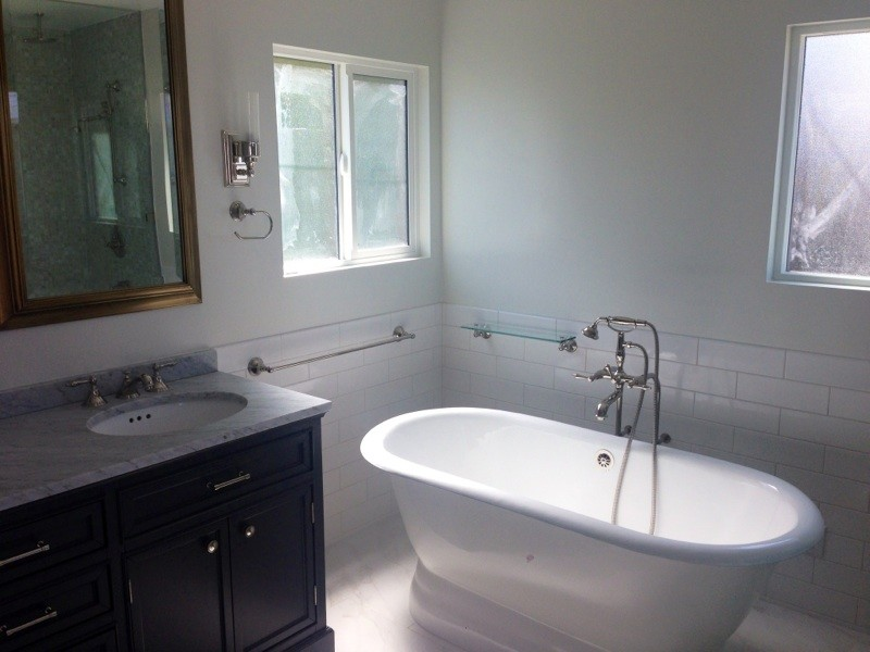 Burbank Bathroom Remodel - Mediterranean - Bathroom - Los ...