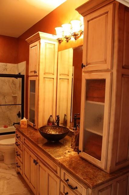 Burdick Baths traditional-bathroom