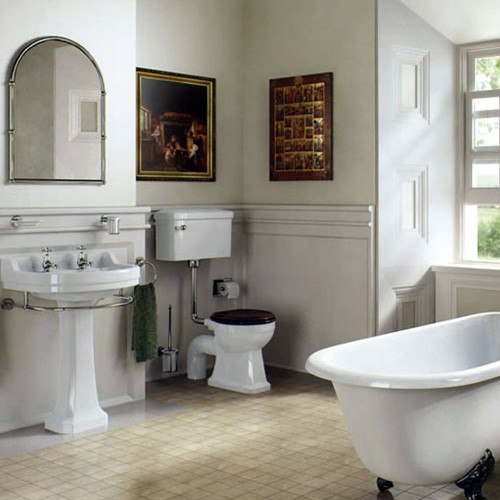 Edwardian bathroom design photos victoriana magazine for Bathroom ideas edwardian