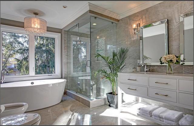 Burlington Renovation Transitional Bathroom Toronto