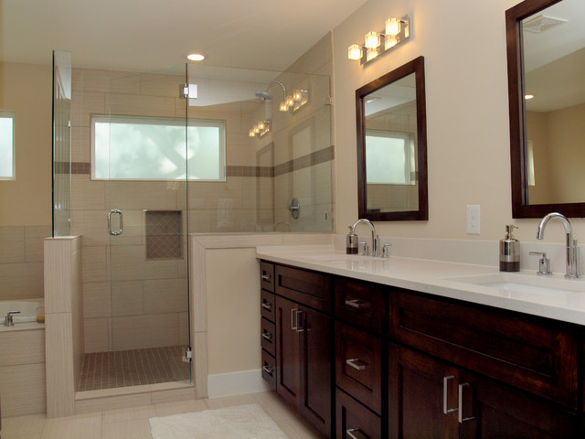 Burney contemporary-bathroom