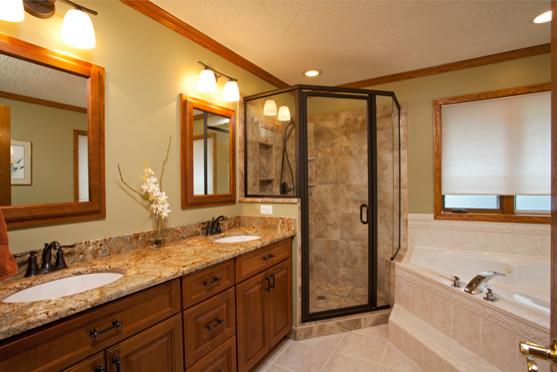 Burnsville master bath update traditional bathroom for Updated master bathrooms