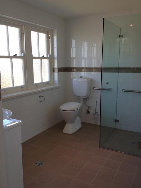 Burwood Heights Refurbishment traditional-bathroom