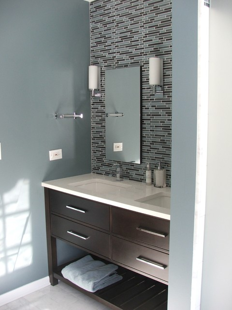 Busy Family Bathroom modern-bathroom