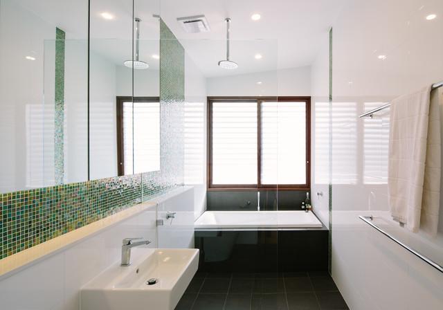 Byron Bay Beach House Contemporary Bathroom Sydney By - Byron bay beach home designed by davis architects