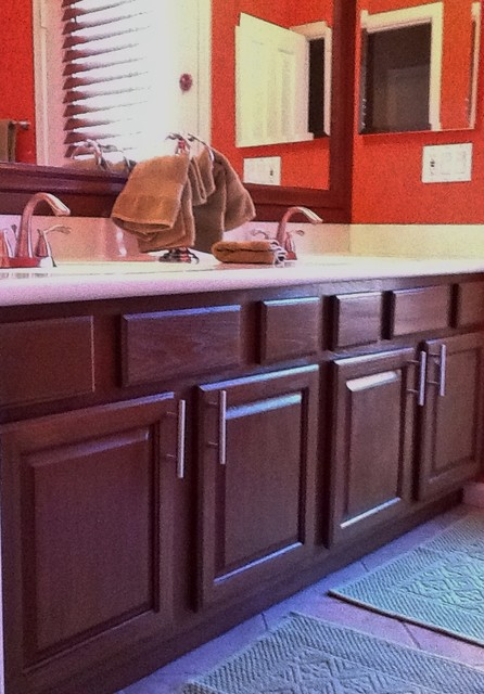 Cabinet Refinishing - Traditional - Bathroom - phoenix - by One King Street