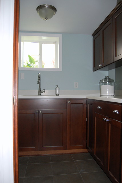 cabinets and countertops traditional-bathroom