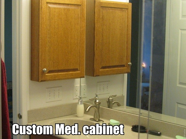 Cabinets traditional-bathroom