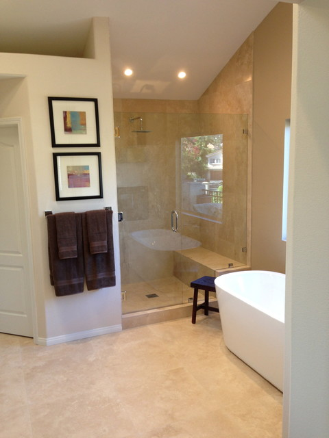 Calabasas Master Bathroom traditional-bathroom