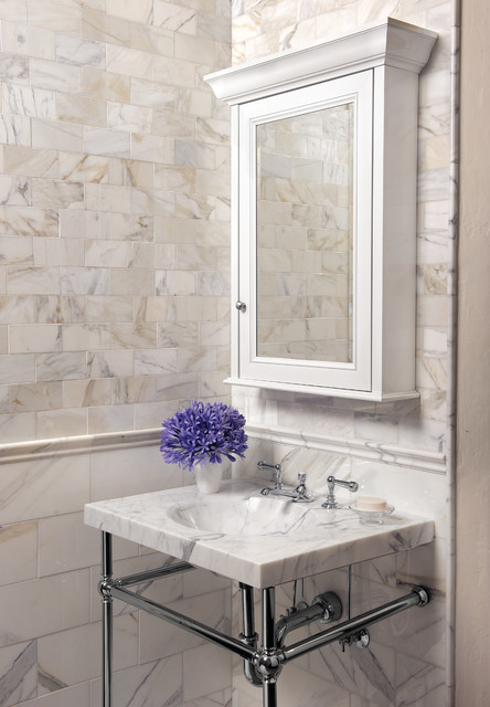 Calacatta Bathroom Contemporary Bathroom San