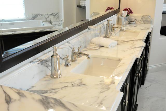 Calcutta Marble Master Bathroom Orlando By Krista Agapito - Calcutta kitchens