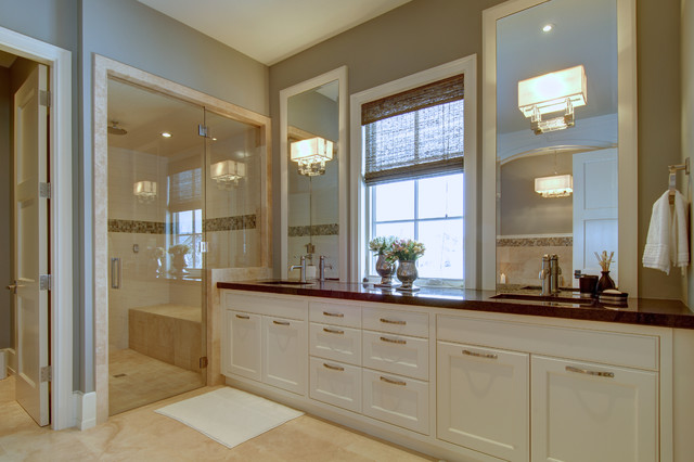 Calgary 39 S Country Chic Living Traditional Bathroom Calgary By Rockwood Custom Homes
