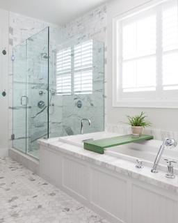 California Cape Cod Beach Style Bathroom Orange County By Built Custom Homes Llc