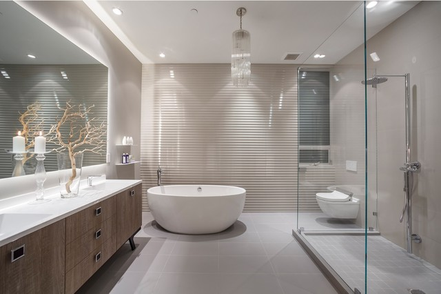 California street contemporary bathroom san for Bath remodel napa ca