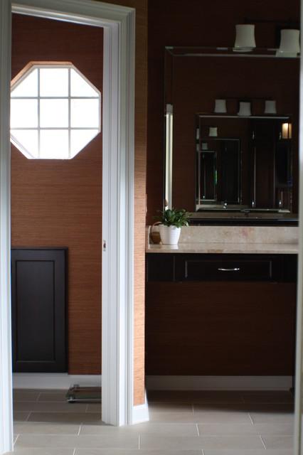Calm & Contemporary contemporary-bathroom