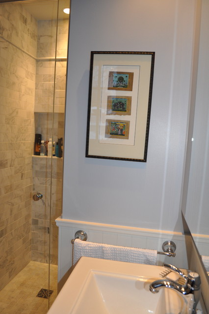 Calm And Serene In Canada Traditional Bathroom New