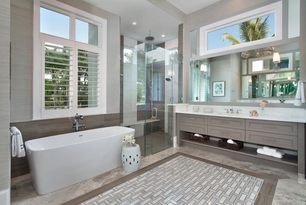 Calusa - QW - Transitional - Bathroom - Miami - by ...