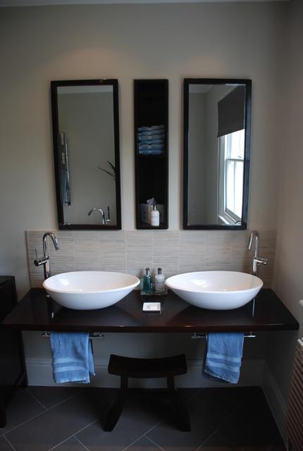 Camberwell Grove Japanese Inspired Ensuite asian bathroom. Camberwell Grove Japanese Inspired Ensuite