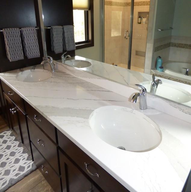 Cambria Brittanicca Vanity Contemporary Bathroom