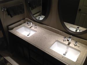 cambria darlington quartz traditional bathroom