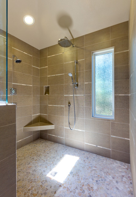 Cambridge Bathroom Remodel In Salem Oregon Contemporary Bathroom Portland By C R Remodeling