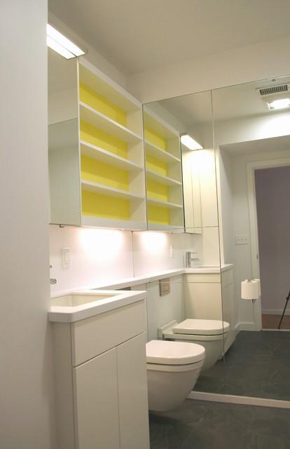 Cambridgeflat Modern Bathroom Boston By Bunker Workshop