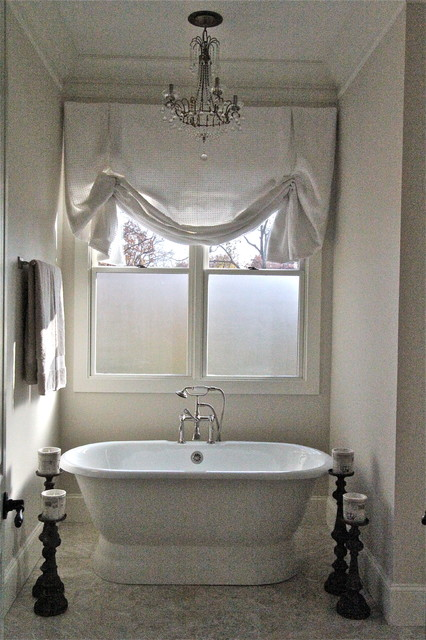 Bathroom window treatments home ideas designs for Window dressing ideas for bathrooms