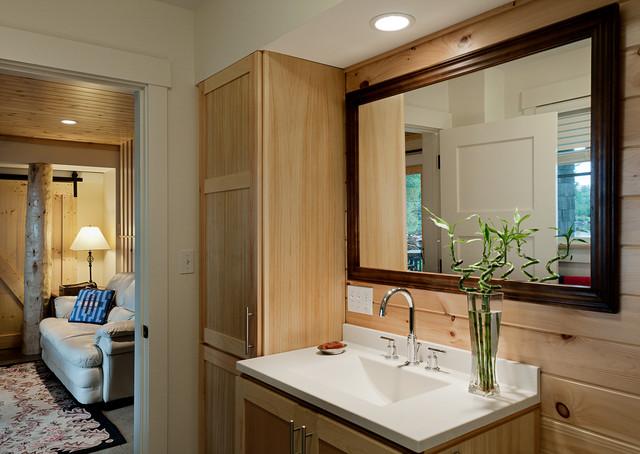 Camp Porta Panagia beach style bathroomCamp Porta Panagia   Beach Style   Bathroom   Portland Maine   by  . Porta Bathroom Fittings. Home Design Ideas