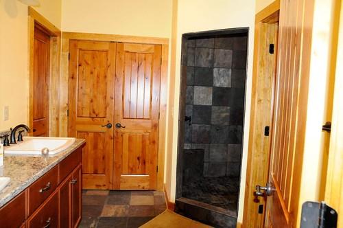 Interior & Exterior Solid Wood Doors In Washington ... |Knotty Alder Door Trim