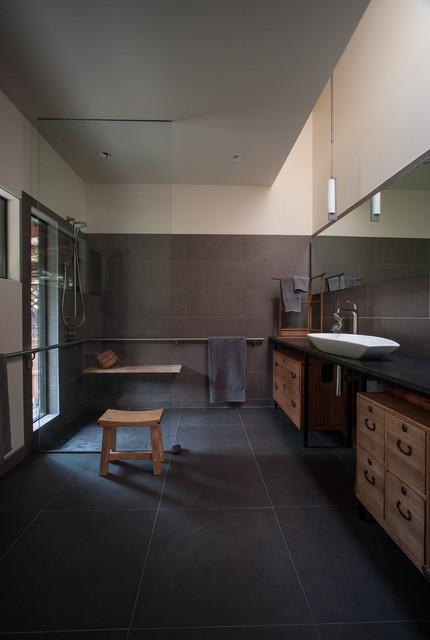 Campoamor arquitetos moderna casa de banho