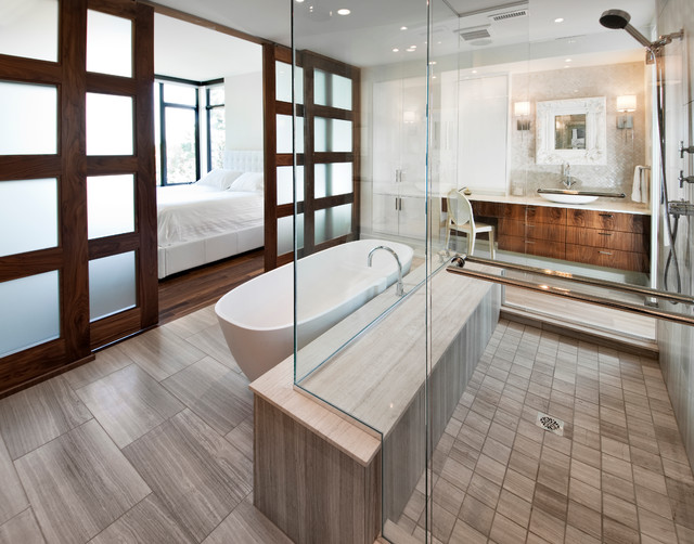 Canal Homes Contemporary Bathroom Ottawa By Roca Homes