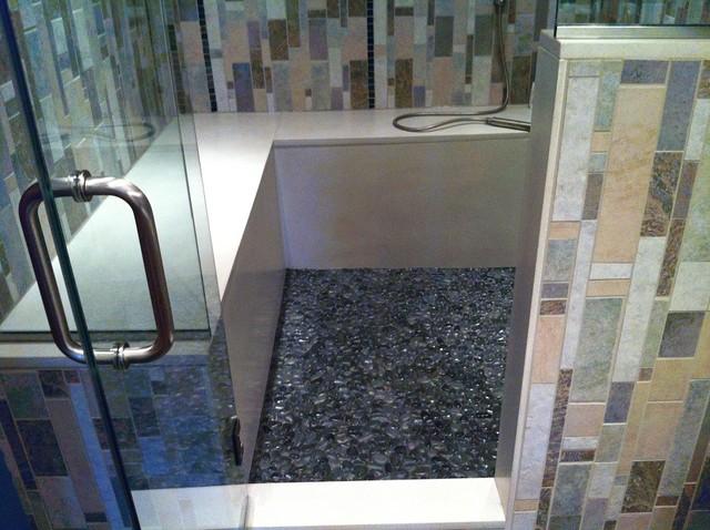 Canal St Shower renovation modern-bathroom