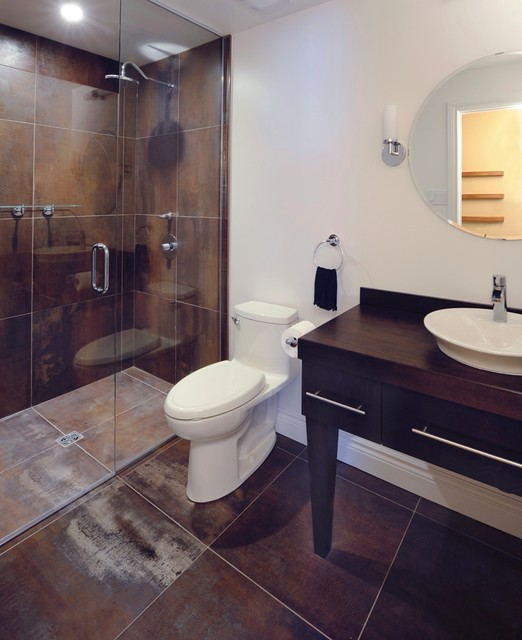 Canary corten powder modern bathroom ottawa by for Bathroom design ottawa