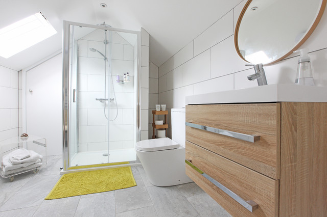 Canberra Cottage Contemporary Bathroom London By Pad Architects Llp