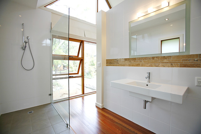 Canberra - Project 7 contemporary-bathroom