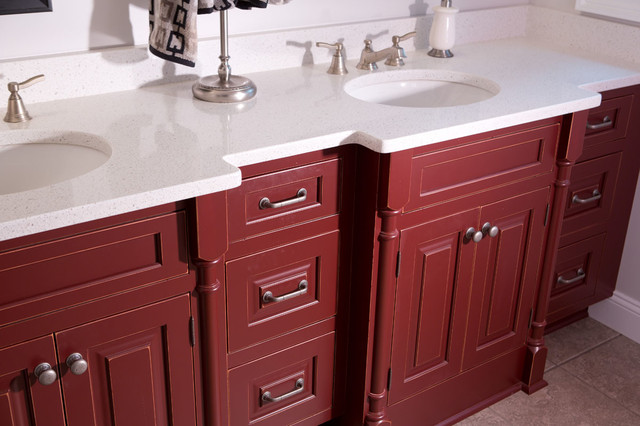 Candlelight cabinetry portfolio traditional bathroom for Candlelight kitchen cabinets
