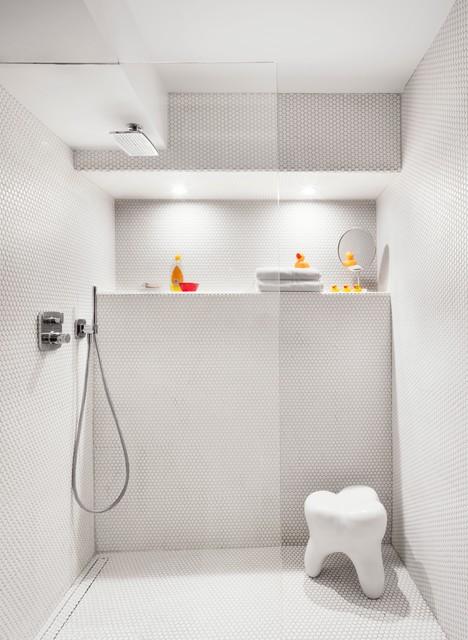 7 piezas vers tiles de almacenaje perfectas para la ducha for Piezas ducha