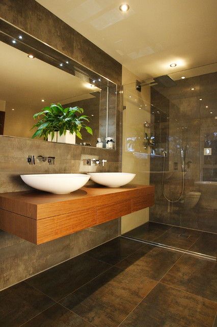 Canford Cliffs contemporary-bathroom