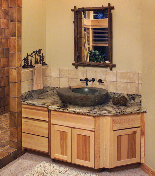 Canyon Creek Cornerstone Shaker In Rustic Hickory With A