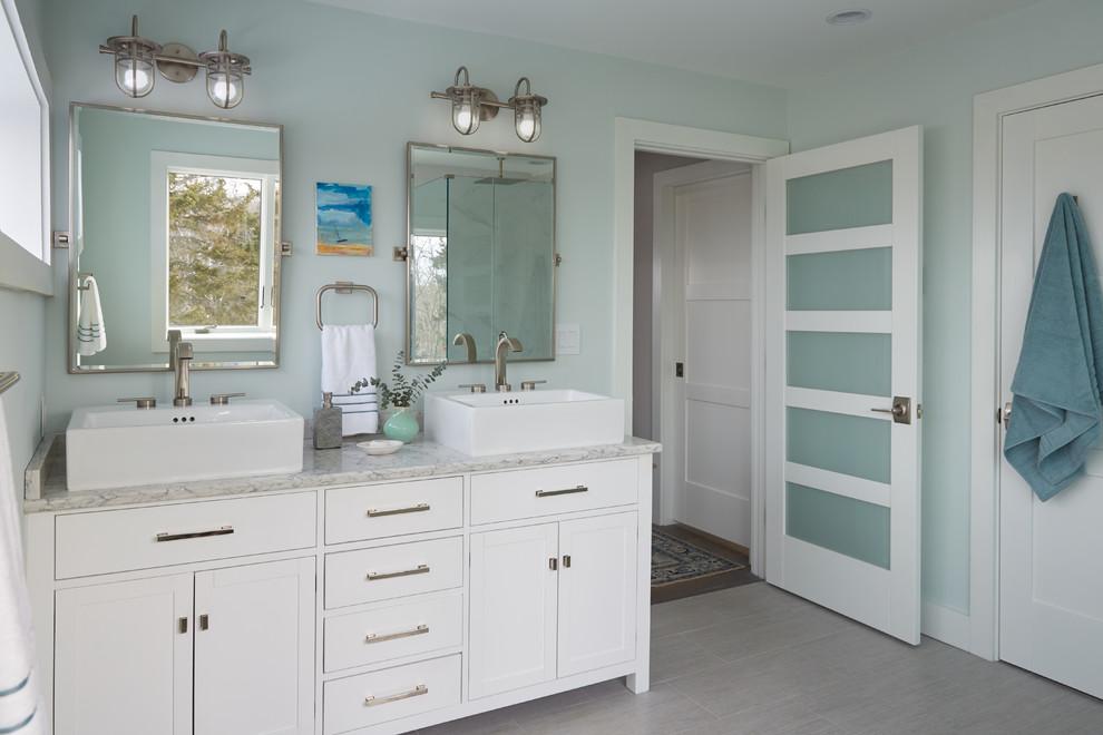 Cape Coastal Modern - Beach Style - Bathroom - Portland ...