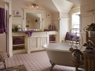 Cape cod bath traditional bathroom houston by - Custom bathroom vanities houston ...