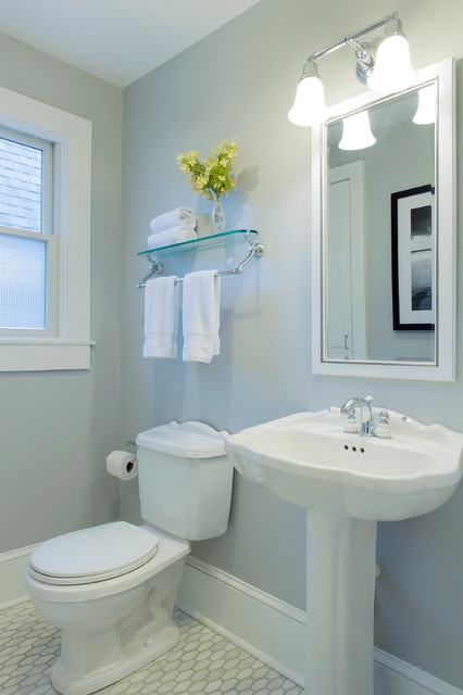 Cape Cod Beach House Remodel Style Bathroom