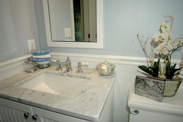 Cape Cod Chic Bathroom Traditional Bathroom