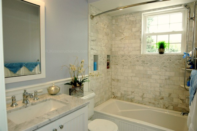 Cape Cod Chic Bathroom Traditional Bathroom Dc Metro By RJK