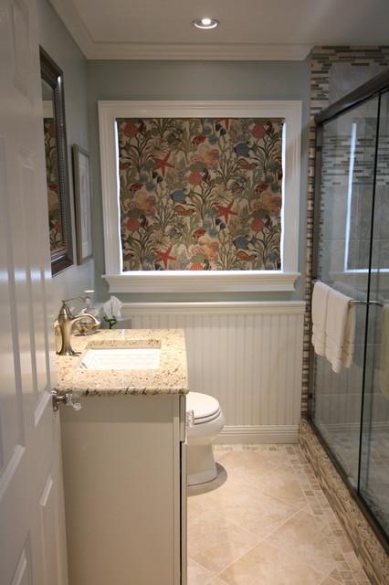 Cape Cod Cottage Bathroom Beach Style Bathroom