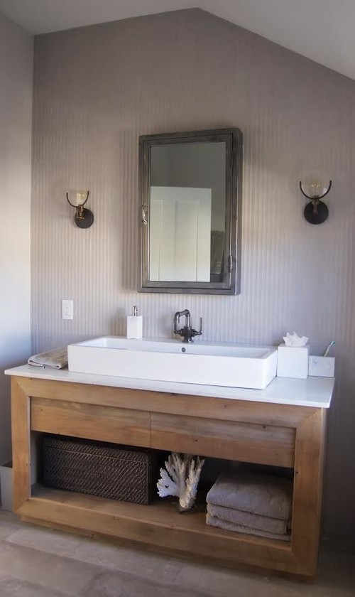 Bathroom renovation on cape cod for Cape cod bathroom design