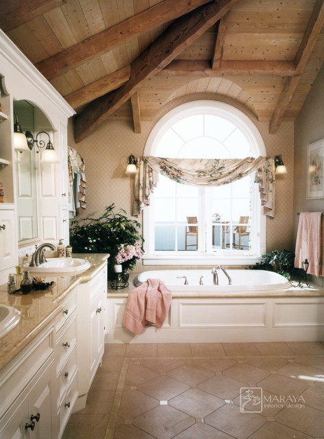 Cape Cod Master Bath Traditional Bathroom Santa