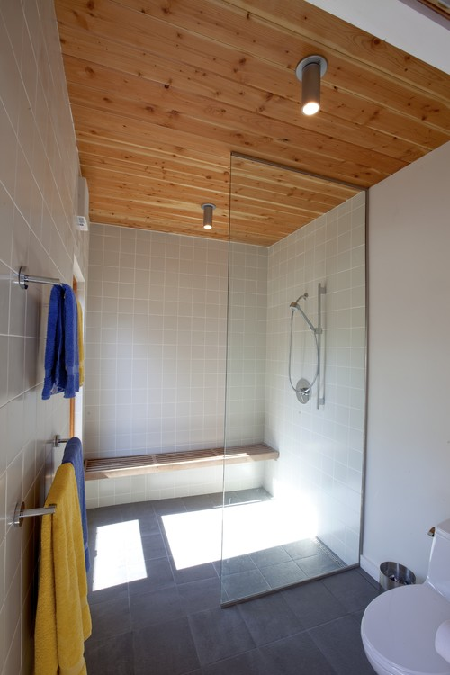 contemporary bathroom by Hammer Architects