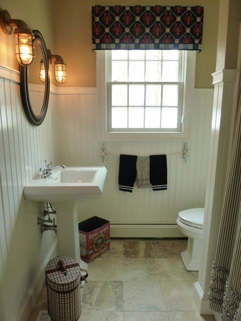 Cape Cod Remodel Beach Style Bathroom Other Metro By The