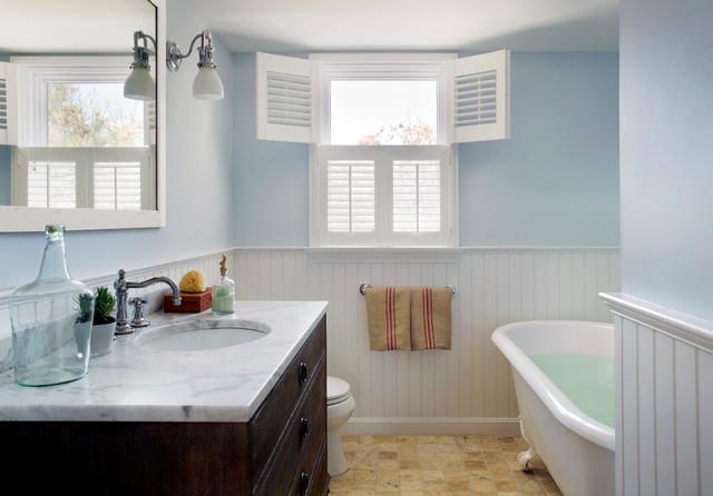 Cape Cod Renovation Beach Style Bathroom Boston By